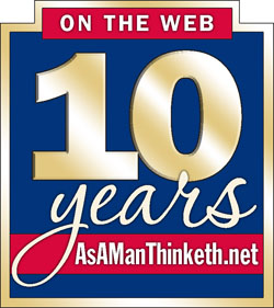 As A Man Thinketh celebrates 10 years on the Web