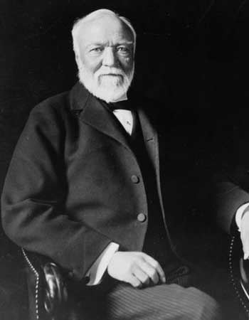 Andrew Carnegie was inspiration for Think and Grow Rich